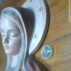 Antigüedades: ANTIGUA FIGURA,VIRGEN NIÑA,AÑOS 60?VER FOTOS. Lote 113727172