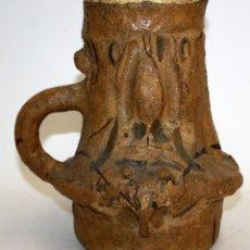 Antigüedades: CARLOS MENDEZ (BUENOS AIRES, 1943) RARA JARRA EN CERAMICA PINTADA.. Lote 113728311