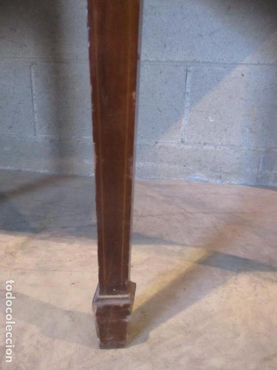 Antigüedades: Antiguo Mueble Aparador - Mesa, Cómoda - Bufet Victoriano, Inglés - Madera Caoba - S. XIX - Foto 7 - 113738307
