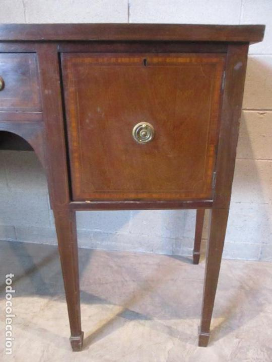 Antigüedades: Antiguo Mueble Aparador - Mesa, Cómoda - Bufet Victoriano, Inglés - Madera Caoba - S. XIX - Foto 8 - 113738307