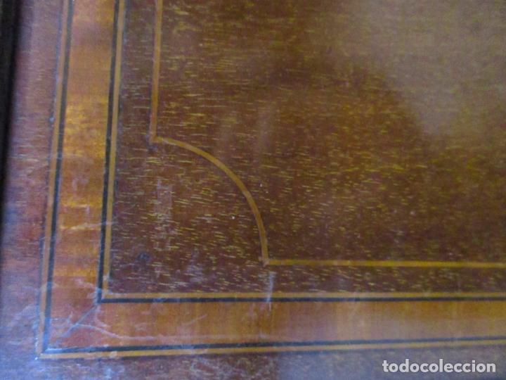 Antigüedades: Antiguo Mueble Aparador - Mesa, Cómoda - Bufet Victoriano, Inglés - Madera Caoba - S. XIX - Foto 12 - 113738307