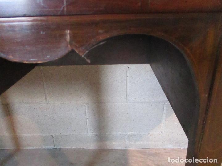 Antigüedades: Antiguo Mueble Aparador - Mesa, Cómoda - Bufet Victoriano, Inglés - Madera Caoba - S. XIX - Foto 14 - 113738307