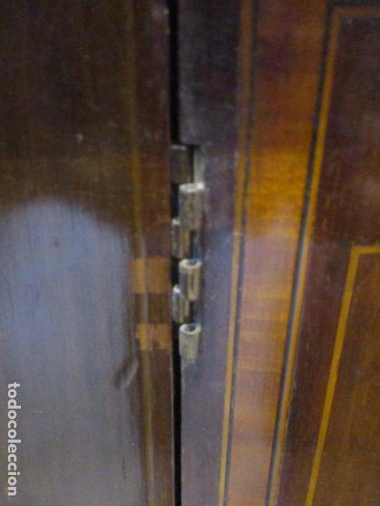 Antigüedades: Antiguo Mueble Aparador - Mesa, Cómoda - Bufet Victoriano, Inglés - Madera Caoba - S. XIX - Foto 18 - 113738307