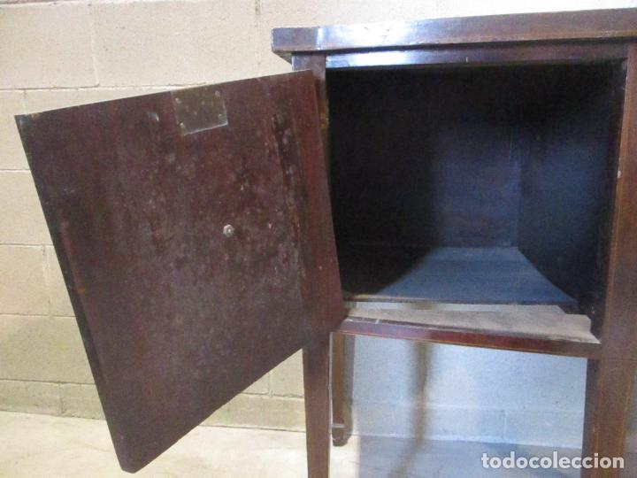 Antigüedades: Antiguo Mueble Aparador - Mesa, Cómoda - Bufet Victoriano, Inglés - Madera Caoba - S. XIX - Foto 20 - 113738307