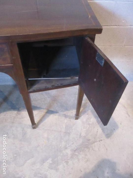 Antigüedades: Antiguo Mueble Aparador - Mesa, Cómoda - Bufet Victoriano, Inglés - Madera Caoba - S. XIX - Foto 22 - 113738307