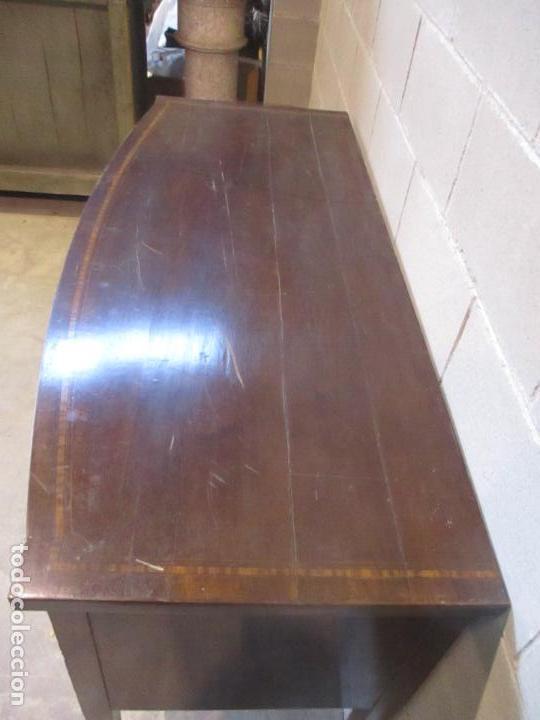 Antigüedades: Antiguo Mueble Aparador - Mesa, Cómoda - Bufet Victoriano, Inglés - Madera Caoba - S. XIX - Foto 24 - 113738307