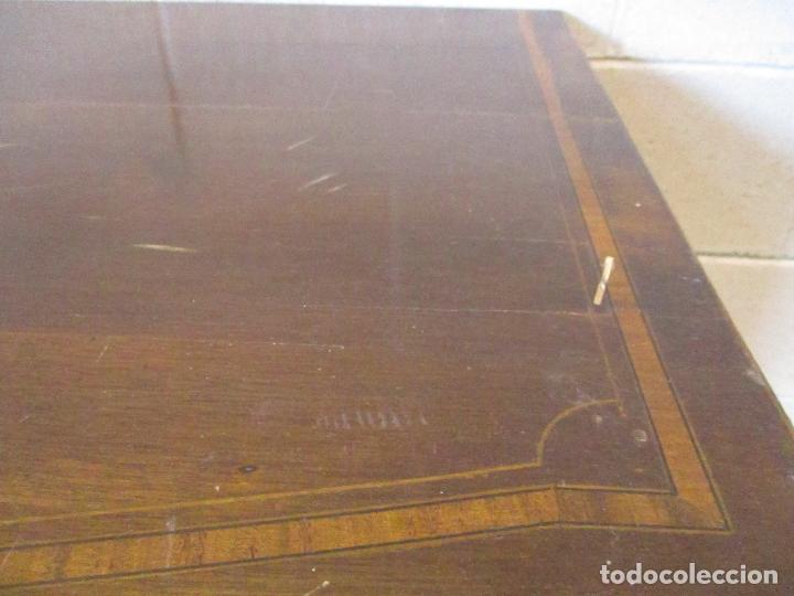 Antigüedades: Antiguo Mueble Aparador - Mesa, Cómoda - Bufet Victoriano, Inglés - Madera Caoba - S. XIX - Foto 27 - 113738307