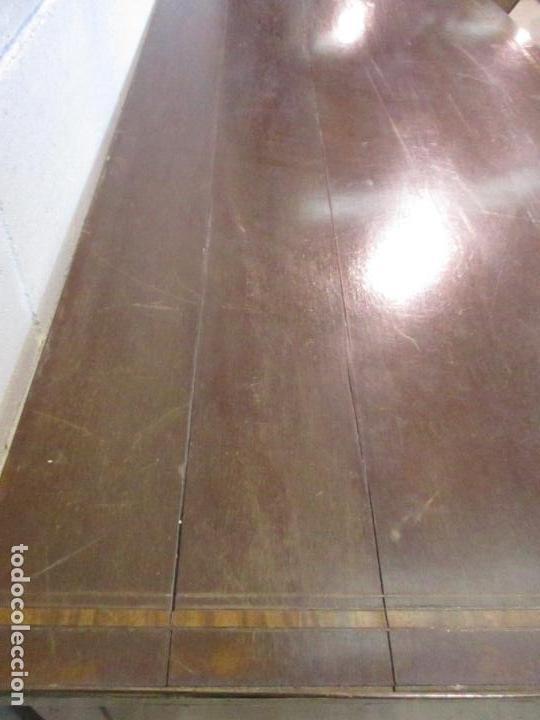 Antigüedades: Antiguo Mueble Aparador - Mesa, Cómoda - Bufet Victoriano, Inglés - Madera Caoba - S. XIX - Foto 29 - 113738307