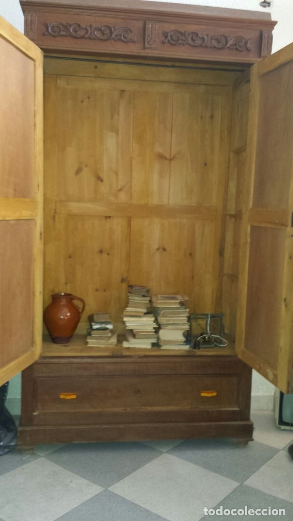 Antigüedades: GRAN ARMARIO ANTIGUO - Foto 2 - 40590181