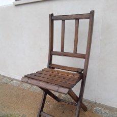 Antigüedades: SILLA ANTIGUA DE CASINO .. Lote 202419472
