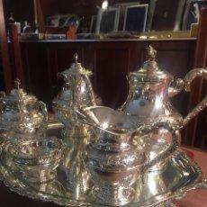 Antigüedades: JUEGO CAFÉ PLATA DELEY. Lote 113833739