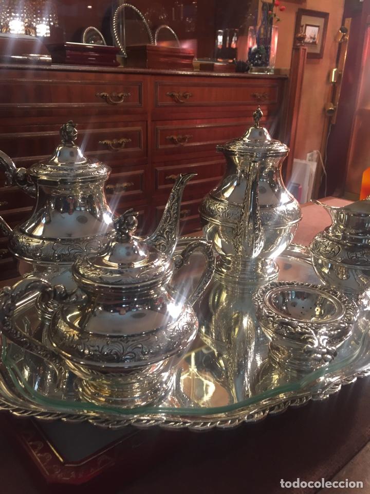 Antigüedades: Juego Café plata deley - Foto 2 - 113833739