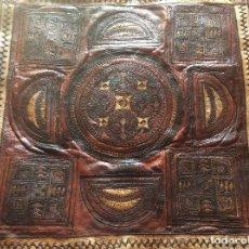 Antigüedades: LINDISSIMO ALFOMBRA DE PIEL DE FINALES DEL SIGLO XIX, PRINCIPIOS DEL SIGLO XX. Lote 113844039