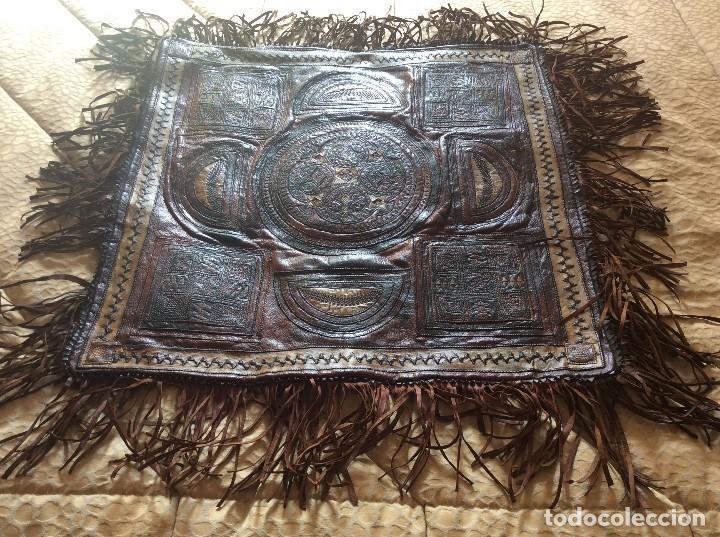 Antigüedades: Lindissimo alfombra de piel de finales del siglo XIX, principios del siglo XX - Foto 2 - 113844039
