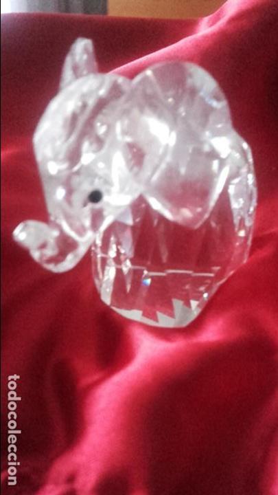 Antigüedades: Elefante Swarovski - Foto 2 - 113859127