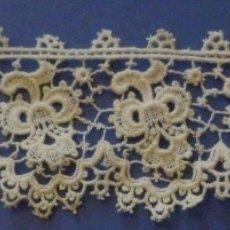 Antiquitäten - ANTIGUO ENCAJE DE GUIPUR DE IRLANDA S.XIX - 113735899