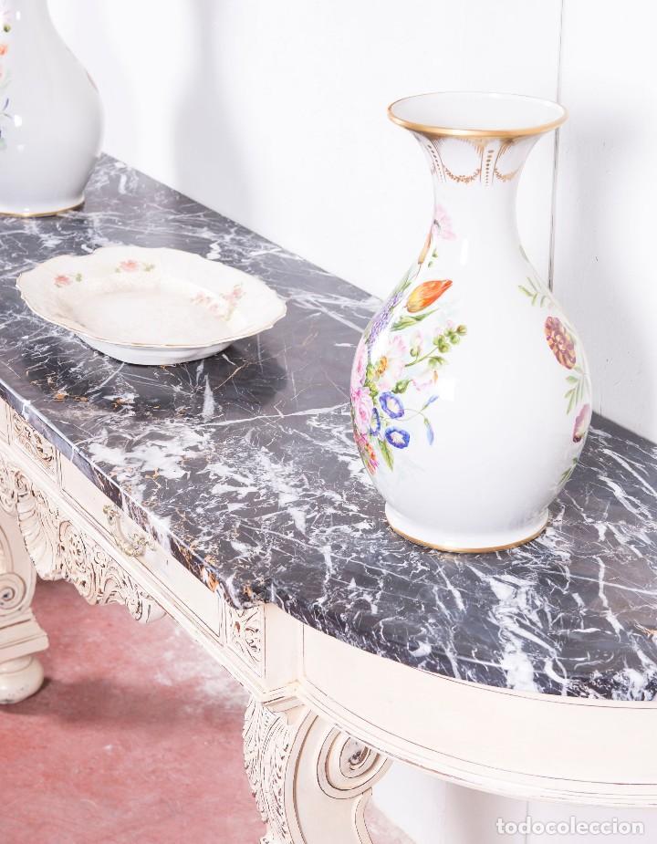Antigüedades: Consola Antigua Restaurada Virginie - Foto 5 - 113896727