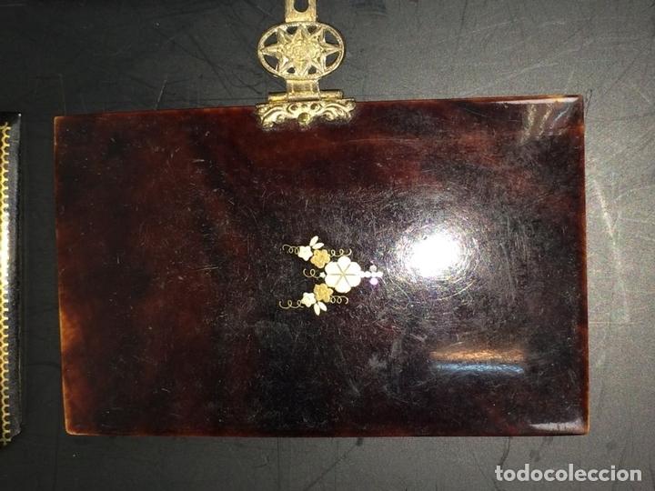 Antigüedades: COLECCIÓN DE CUBIERTAS DE MISAL. NÁCAR. BAQUELITA. GUTAPERCHA. ESPAÑA. SIGLO XIX - Foto 19 - 113898623
