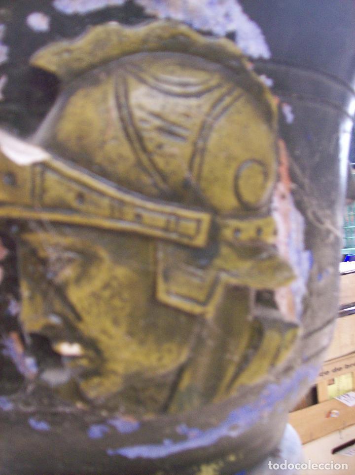 Antigüedades: MACETERO TERRACOTA MODERNISTA. AÑOS 30. CON PIE - Foto 4 - 113907239