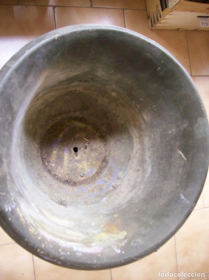 Antigüedades: MACETERO TERRACOTA MODERNISTA. AÑOS 30. CON PIE - Foto 6 - 113907239