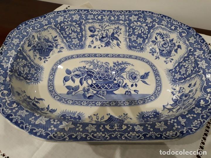 BANDEJA COPELAND-GARRETT (Antigüedades - Porcelanas y Cerámicas - Inglesa, Bristol y Otros)