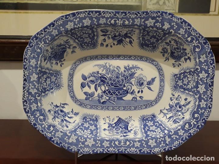Antigüedades: BANDEJA COPELAND-GARRETT - Foto 10 - 113915295