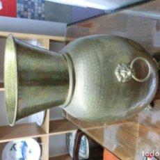 Antigüedades: FLORERO DE BRONCE . Lote 113916147