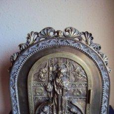 Antigüedades: (ANT-180303) SAGRARIO DE LATON - SIGLO XX. Lote 113919615
