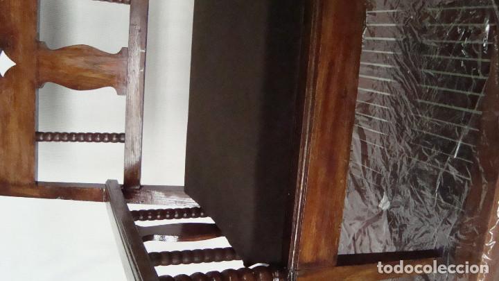 Antigüedades: sillón castellano - Foto 2 - 113975111