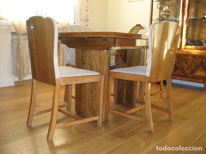 mesa comedor y sillas art deco - Comprar Mesas Antiguas en ...