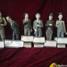 Antigüedades: COLECCIÓN 7 PERSONAJES DE CINE PORCELANA ALGORA CON CERTIFICADOS. Lote 158159352
