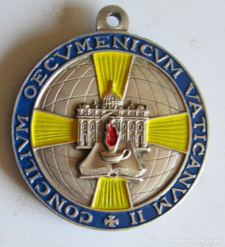 JUAN XXIII- 33 MM- CONCILIO VATICANO II (Antigüedades - Religiosas - Medallas Antiguas)