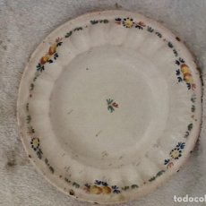 Antigüedades: PLATO PEQUEÑO ALCORA. Lote 114101527