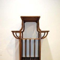 Antigüedades: ESTANTERÍA MODERNISTA - ART NOUVEAU. Lote 114105187