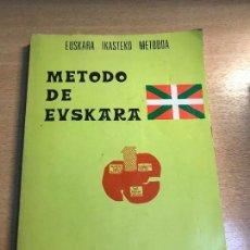 Diccionarios: METODO DE EUSKARA - XABIER GEREÑO - AÑO 1976. Lote 114068311