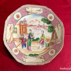 Antigüedades: PLATO PORCELANA CONPAÑIA.. Lote 114125471