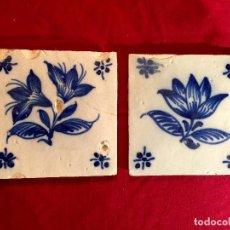 Antigüedades: 2 AZULEJOS PORTUGUESES.. Lote 114126119