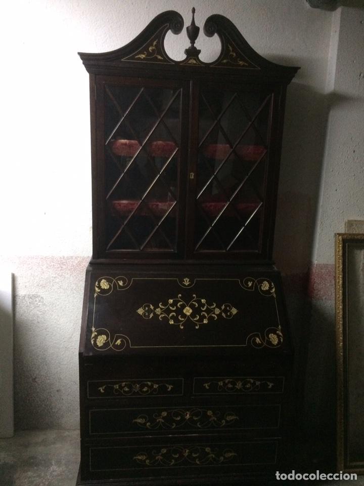 ANTIGUO MUEBLE SECRETER (Antigüedades - Muebles Antiguos - Escritorios Antiguos)