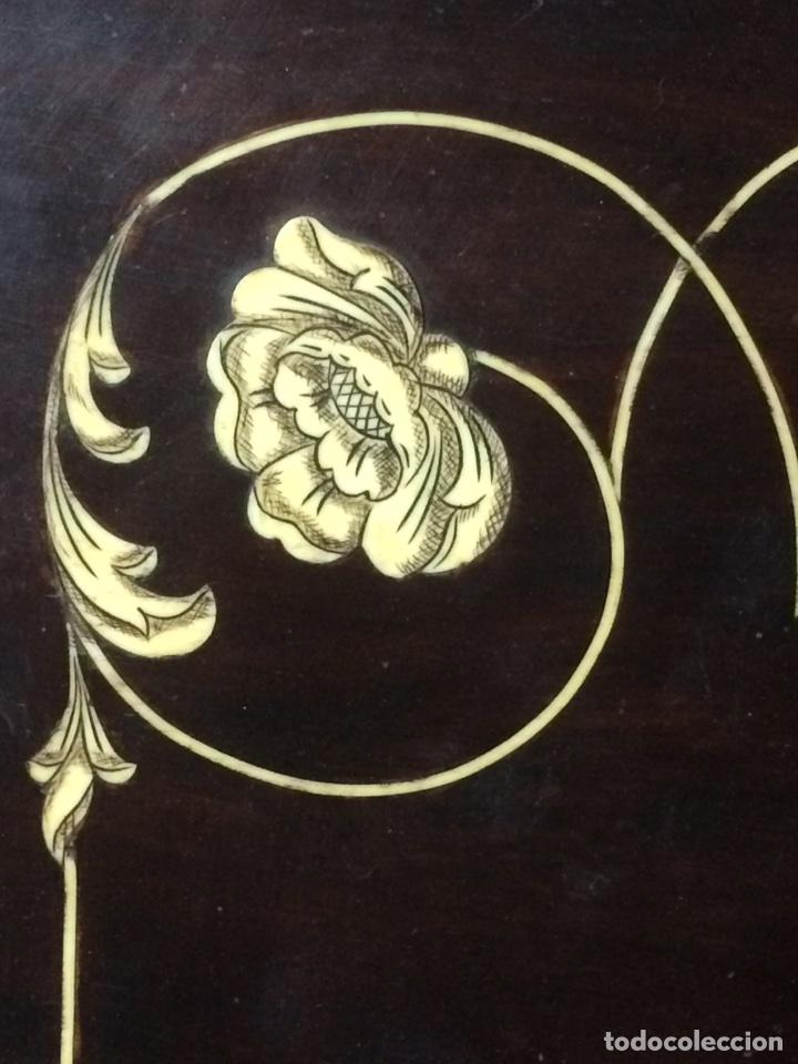 Antigüedades: Antiguo mueble secreter - Foto 4 - 114128976