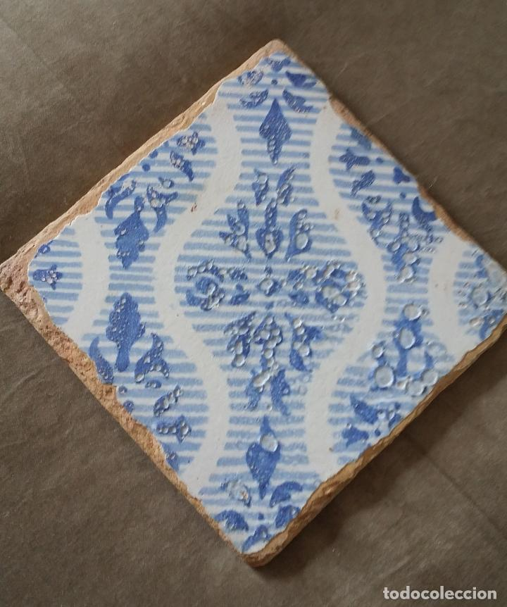 Antigüedades: Antiguo azulejo valenciano - Foto 2 - 114154975