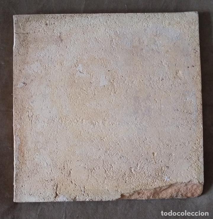 Antigüedades: Antiguo azulejo valenciano - Foto 3 - 114154975