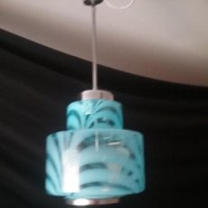 Antigüedades: LAMPARA DE CRISTAL DE MURANO, VINTAGE,AÑOS 60/70,. Lote 97810947