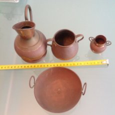 Antigüedades: MINIATURA COCINA BRONCE. Lote 114149690