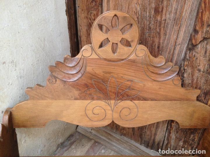 Antigüedades: Estante-Alacena en madera de Nogal - Foto 2 - 114196755