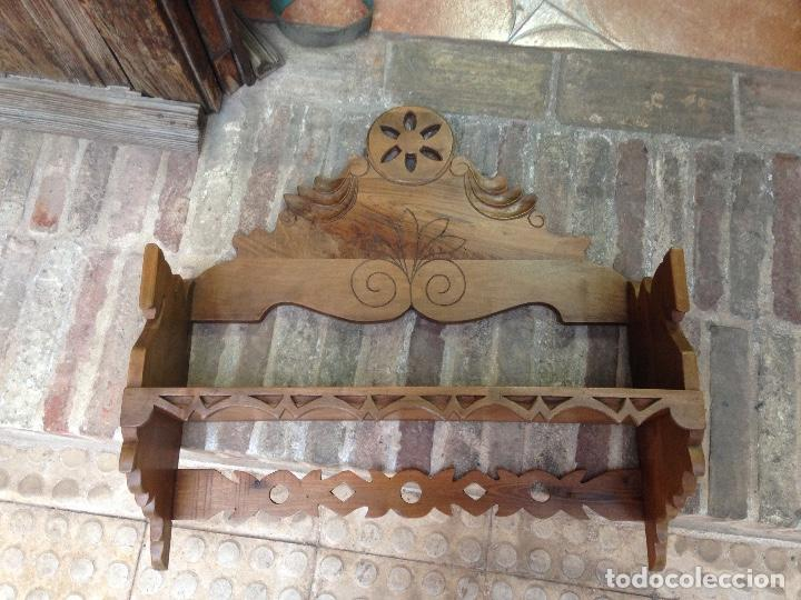 Antigüedades: Estante-Alacena en madera de Nogal - Foto 4 - 114196755