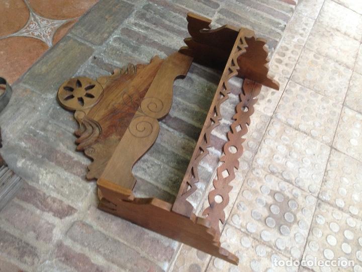 Antigüedades: Estante-Alacena en madera de Nogal - Foto 5 - 114196755