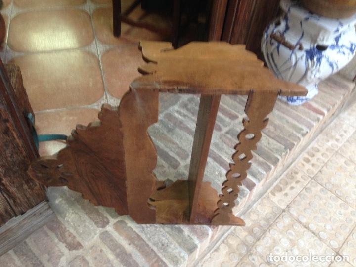 Antigüedades: Estante-Alacena en madera de Nogal - Foto 6 - 114196755
