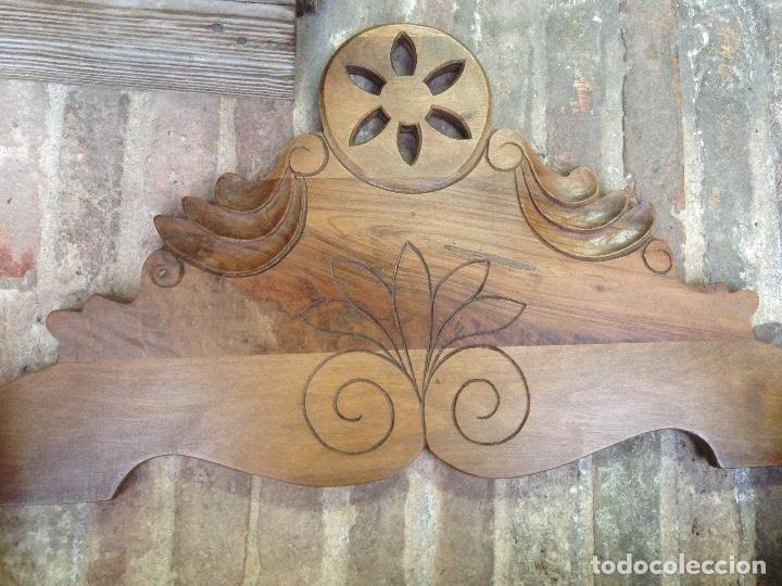 Antigüedades: Estante-Alacena en madera de Nogal - Foto 7 - 114196755