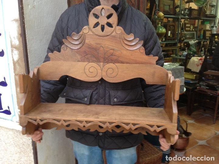 Antigüedades: Estante-Alacena en madera de Nogal - Foto 8 - 114196755