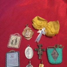 Antigüedades: LOTE RELIGIOSO VARIOS. Lote 114203108